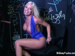 Britney Amber Glory Hole Blowjob
