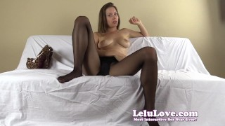 Lelu Love-FemDom Ruined Slave Humiliation  homemade hd humiliation chastity foot femdom amateur solo instruction fetish domination pantyhose natural-tits brunette lelu-love feet ruined high-heels