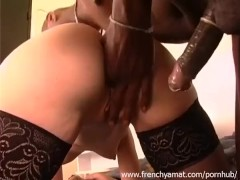 French interracial amateur sex