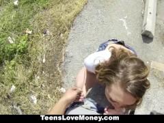 TeensLoveMoney – Brooke Wylde's Fat Ass Full of Cum!