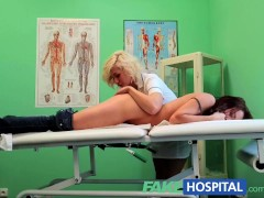 FakeHospital Intense sexual encounter between bisexual patient and blonde