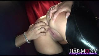 HarmonyVision Gloryhole Anal Sluts  harmony vision ass fuck high heels lingerie british redhead fishnet blowjob gloryhole cumshot english toys hardcore kink 3some latex harmonyvision pissing finegring huge tits