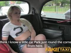 FakeTaxi Filthy UK blonde chav loves fucking strangers