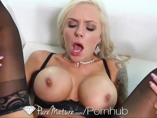 Blonde cutie cameron dee taking a large dick 3