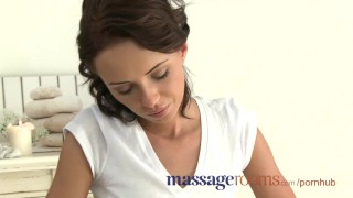 Preview 3 of Massage Rooms Beautiful big tit girls learn how to have real lesbian fun