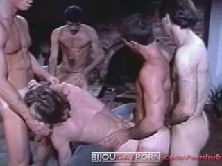 Gay porn video bareback threesome swallowing cum