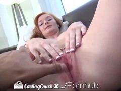HD - CastingCouch-X Young redhead wants to be fucked on camera