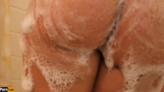 Shower Time W/ Daisy Dabs 1: Amateur Latina teases and fucks in shower