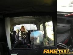 FakeTaxi Young blonde sucks an old taxi mans cock
