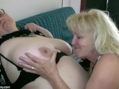 Sexy Old Granny With A Sexy Mature
