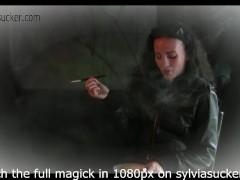Noire Smoking Fetish Art Teaser by Syviasucker.com...from .Sylvia Chrystall