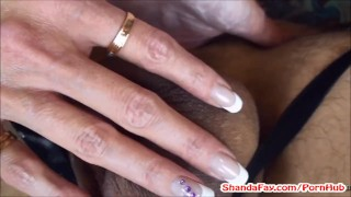 Shanda's Pegging Prostate Exam! Fucks Man With Strap On!  pegging pegged babe femdom canadian amateur shandafay kink kinky brunette anal stockings housewife strap on guy woman fucks man