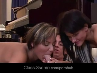 Anne Magle Threesome - Title on the code