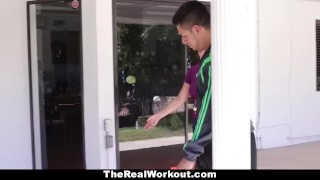 TheRealWorkout - Kimber Lee Gets Drilled By Her Soccer Coach!