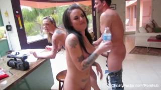 Christy Mack Behind The Scenes Fun