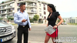 The French Connection  ass fuck point of view vaginal sex outdoors french blowjob small tits pov lifeselector hardcore anal sex european facial black hair fignering