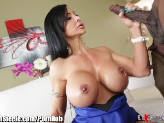 MILF Jewels Jade Takes on 11 inches of Black Cock