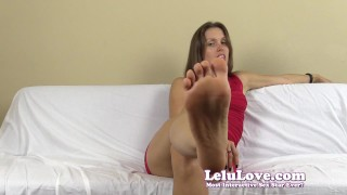 Lelu Love-Dirty Smelly Pantyhose FemDom Humiliation  homemade hd humiliation foot femdom cei amateur solo soles fetish domination pantyhose brunette toes feet ruined natural tits lelu love