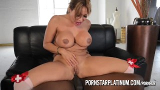 PornstarPlatinum - Ava Devine sperm donor Rod Piper  cum drinking bbc huge-tits blowjob cumshot big-boobs milf deep-throat interracial brunette reverse-cowgirl mature cougar anal pornstarplatinum landing strip