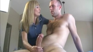 Preview 3 of Blonde Milf Likes Huge Cocks