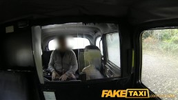 FakeTaxi Big tits babe gives cabbie a blowjob
