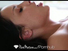 HD - PureMature - MILF Anissa Kate gets her asshole blasted by cock