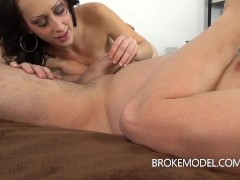 Milf Squirts and gets creampie'd