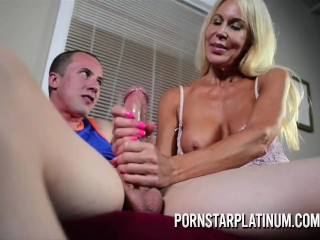 little girl riding the cock