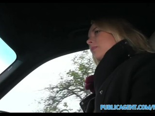 PublicAgent Blonde teen hitch hiker picked up and fucked