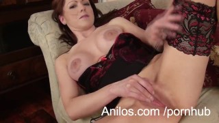 Sexy mom shares first orgasm video