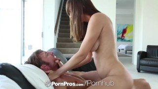 HD - PornPros Busty Holly Michaels fucked on her couch