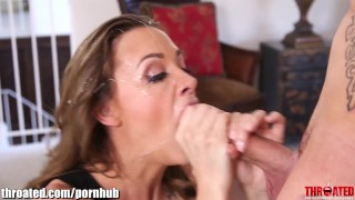 Throated CHALLENGE! VOTE Chanel Preston  big tits babe blowjob pornstar hardcore challenge throated throat fuck gagging deepthroat facefuck throatfuck face fuck contest deep throat chanel preston