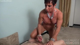 Mature Muscle Handjob - Anna Phoenixxx  kink muscular woman femalemusclenetwork old