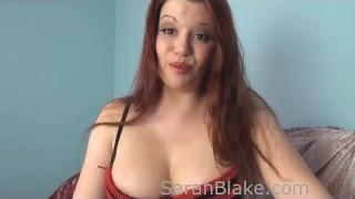 Mistress Sarah Blake Humiliates Losers! Femdom POV video redhead femdom cruel femdom pov point of view kink big tits sarah blake verbal sara blake bra big boobs mean brunette fake tits humiliation