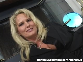 Hot Wife Cheats On Husband With Her Stepson