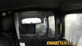 FakeTaxi Big tits babe has sex with taxi driver  sex in car oral amateur blowjob gag cumshot public faketaxi reality deepthroat doggystyle hidden camera big boobs camcorder backseat huge tits