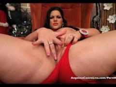 Angelina Castro & Lexxxi Christmas Masturbation Session!