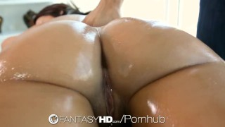 HD - FantasyHD Jada Stevens bounces her big ass on cock