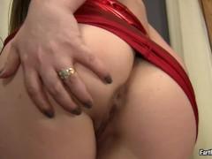 Girl sexy farting