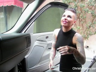 Hot Christy Mack Behind The Scenes Footage