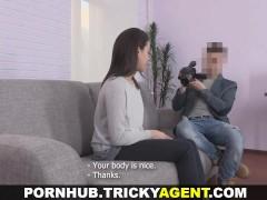Tricky Agent – Shy cutie fucks like a slut