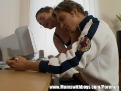 Mature Teacher Seduces young student