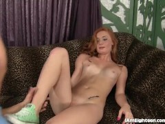 Sexy Redhead Just Turned 18 And Is Ready To Fuck
