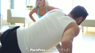 HD - PornPros Kacey Jordan gets dripping pussy work out  tiny tits doggy style bj oral hd blonde blowjob cumshot small tits skinny big dick hardcore cock sucking shaved pussy eating pornpros