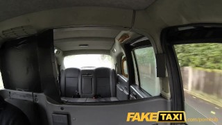 FakeTaxi Hot American MILF with big tits  point of view british american blowjob amateur public camera faketaxi milf spycam car reality gagging deepthroat doggystyle large boobs
