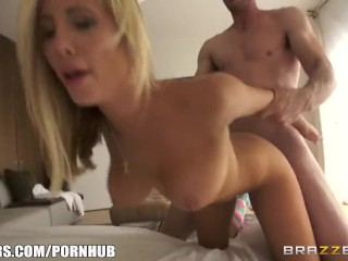 Couple make a sextape - Brazzers