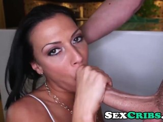 Rachel Starr loves sucking dick and getting fucked
