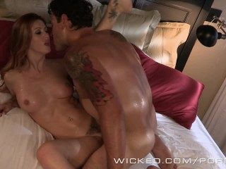 Wicked - Sexy redhead Karlie Montana loves cock