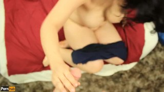 Quickie w/ Daisy Dabs 5: Amateur Latina plays with herself & Cummed on POV