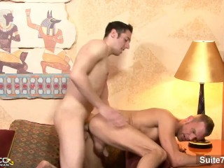 Lovely married guy Nick Sparten gets fucked hard by gay Steven Daigle